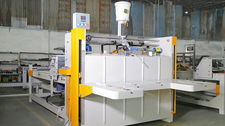 Semi-Automatic Box Making Equipment | Carton Machinery